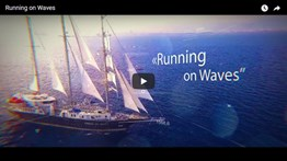 "Russian Radio Cyprus video about ""Running on Waves"""