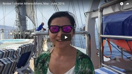 REVIEW 1 CHARTER ATHENS-ATHENS, MAY - JUNE, 2016